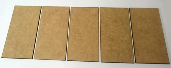 100mm Frontage Bases