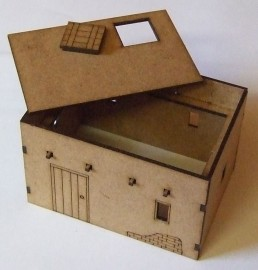 28mm Single Storey Small Adobe Dwelling