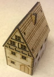 15mm Post WW2-Old German Timber House 01 (Team Yankee)