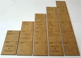 MeG 15mm Scale Movement Ruler's
