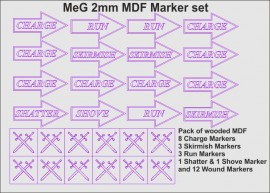 MeG 2mm MDF Marker set