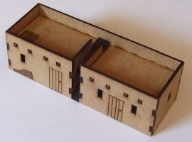 15mm Double Adobe with steps