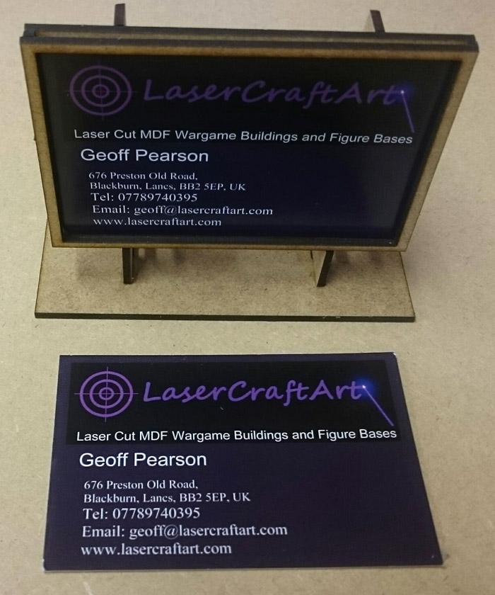 Laser craft art team yankee business card billboard kit reheart Choice Image