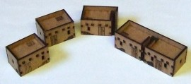 10mm Scale Adobe Village pack