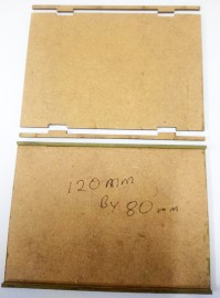 2mm MDF 120mm by 80mm movement trays 15/28mm