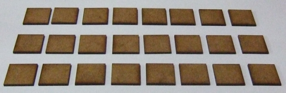 20mm Frontage Bases