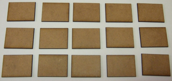 30mm Frontage Bases