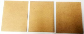 2mm thick MDF 80mm by 100mm bases