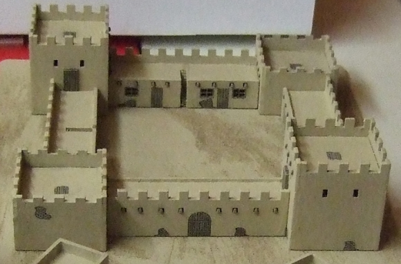 10mm Scale Buildings