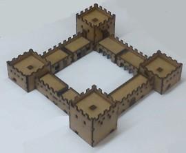 10mm Scale Adobe Fort Set