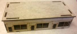 15mm Post WW2-Modern Shop Row 01 (Team Yankee)