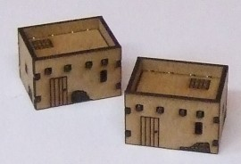 10mm 2 Small Adobe buildings