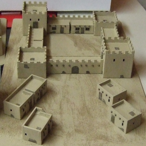 10mm Scale Arab Adobe Style Buildings