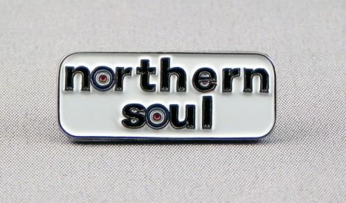 Northern Soul Roundel Bar Pin Badge Stylesceneuk